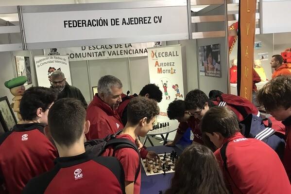 El stand de la Federación tuvo innumerables visitas durante el fin de semana.