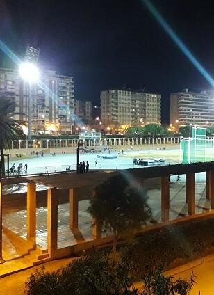 Estadio del Túria.