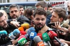 Gabriel Rufián señala que Junqueras es el 'plan B' si Puigdemont no puede volver.