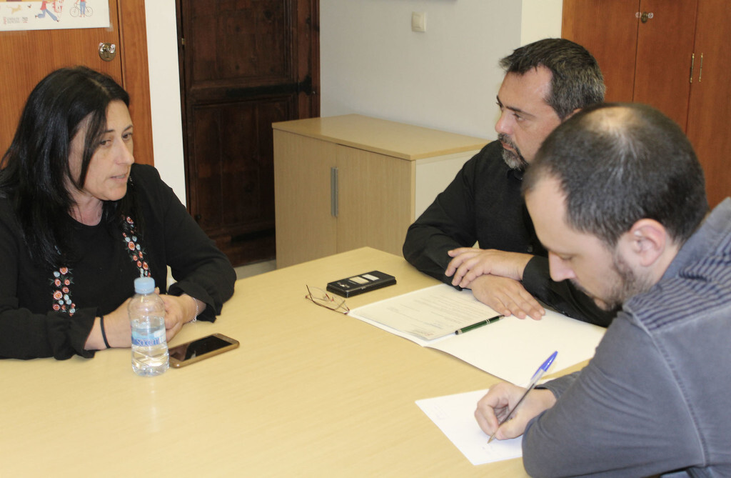 Isabel Segura reunion vicepresidencia
