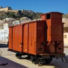 FGV restaura un antiguo vagón de mercancías que circuló durante el pasado siglo en la línea ferroviaria Carcaixent-Dénia