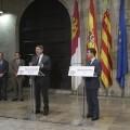 La Comunitat Valenciana y Castilla-La Mancha presentan una declaración conjunta para la reforma del sistema de financiación autonómica.