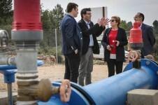 La Diputació invierte 2,5 millones en 82 actuaciones de mejora de la red de agua en los municipios valencianos.