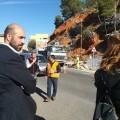 La Diputación de València refuerza la seguridad vial en Pedralba mientras se resuelve el PORN de la conselleria.