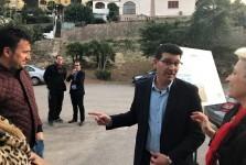 La Diputación instalará una tubería de un kilómetro para suministrar agua potable a 500 vecinos del Real de Gandia.