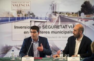 La Diputación invierte más de 12 millones de euros en la seguridad de las carreteras de l'Horta.