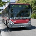La EMT València inicia la sustitución de paneles de información de paradas.