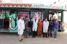 La EMT dona a Mali un autobús con material sanitario, en el marco del programa 'Solidaridad sobre ruedas'.