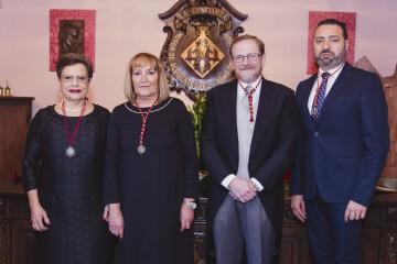 La Junta Honorífica San Vicente Mártir 2018 del Gremio Artesano de Sastres y Modistas CV