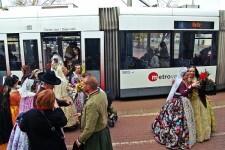 Metrovalencia ofreció 130 días de servicios especiales en 2017.