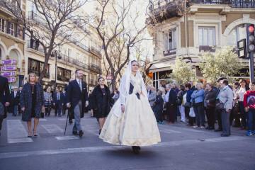 Momento de la procesión cívica