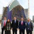 Puig señala que el aprovechamiento del Ágora conseguirá 'relanzar' la Ciudad de las Artes y las Ciencias.