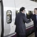 Rajoy ha inaugurado el tramo de AVE Valencia-Castellón