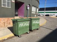 Imagen de contenedores de basura de RSU en Fuente del Jarro
