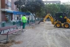 Remodelación del parque de la calle Joaquín Dualde.