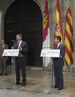 Reunión Puig y García Page.