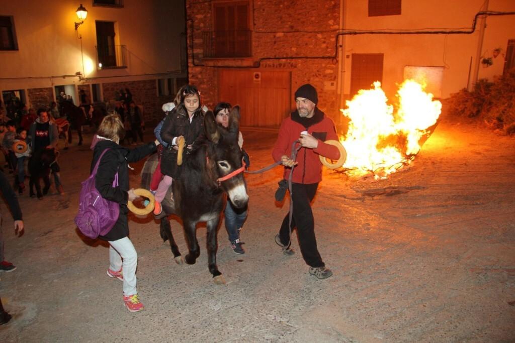 Vilafamés celebra un multitudinari Sant Antoni (3)
