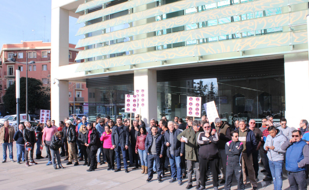 manifestacion pta conselleria taxi