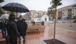 Jose Cuellar 6/2/2018 Valencia, Comunitat Valenciana. L'alcalde de València, Joan Ribó, assistix a l'acte de recepció del Jardí de l'Ermita d'Orriols
