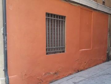 0227 neteja de pintades Plaça de l'Àngel Custodi després