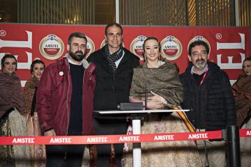 Amstel reconoce a todas las Fallas valencianas con un emocionante y atronador espectáculo pirotécnico ( (3)