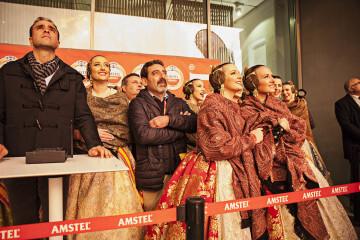 Amstel reconoce a todas las Fallas valencianas con un emocionante y atronador espectáculo pirotécnico ( (8)