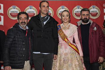 Amstel reconoce a todas las Fallas valencianas con un emocionante y atronador espectáculo pirotécnico ( (9)