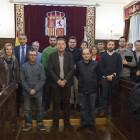 La Diputación acoge el sorteo de las bandas que participarán en elXLICertamen Provincial los días28 y 29de abril