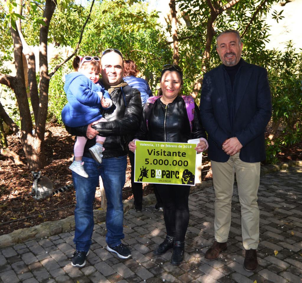 BIOPARC Valencia - Visitante 5 millones y Luís Ángel Martínez - Director del parque
