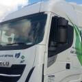 Camiones propulsados con gas