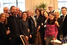 Compartiendo experiencias con la actriz Fanny Ardant en el Four Seasons ...