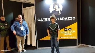 Dustin de Stranger Things a la Comic Con Gaten Matarazzo 20180224 (10)