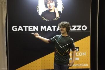 Dustin de Stranger Things a la Comic Con Gaten Matarazzo 20180224 (18)