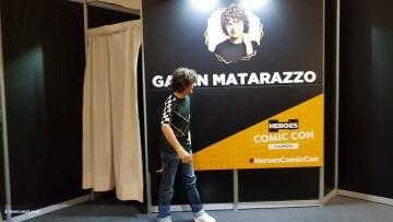 Dustin de Stranger Things a la Comic Con Gaten Matarazzo 20180224 (3)