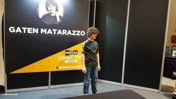 Dustin de Stranger Things a la Comic Con Gaten Matarazzo 20180224 (7)