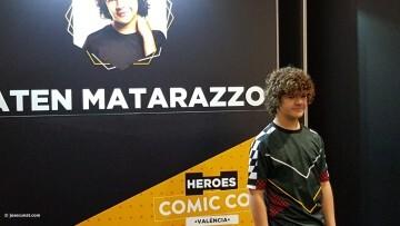Dustin de Stranger Things a la Comic Con Gaten Matarazzo 20180224 (8)