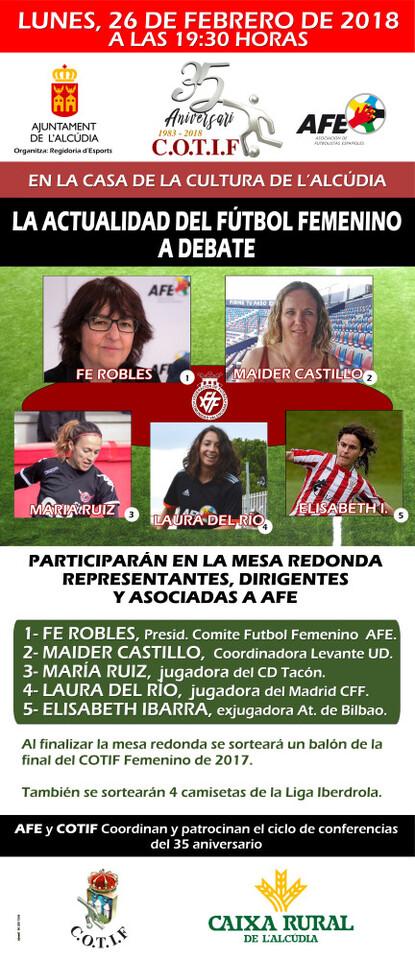 El COTIF y AFE apuestan de nuevo por el fútbol femenino