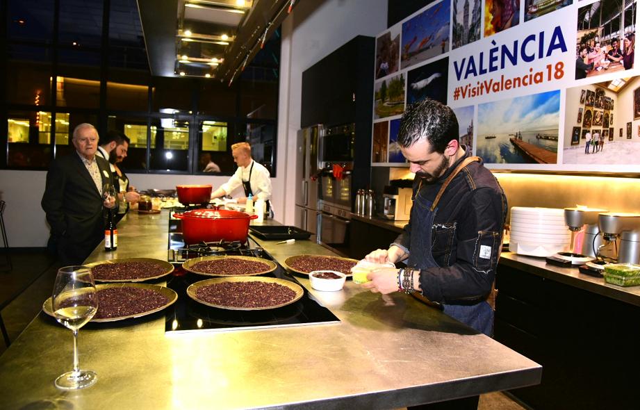 El Kitchen Club de Madrid reúne a cuatro de los mejores chefs de València en una demostración gastronómica organizada por la Fundación Turismo València (2)