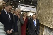 El alcalde destaca la aportación de la actividad ferial a la economía doméstica de València.