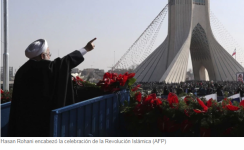 El régimen de Irán volvió a provocar a Occidente y desplegó su misil balístico Ghadr para conmemorar la Revolución Islámica Infobae
