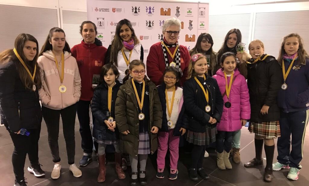 Foto participantes torneo femenino