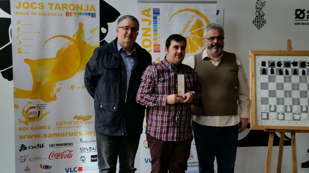 El Campeón de la general de la anterior edición dels Jocs Taronja David Martín Ayala