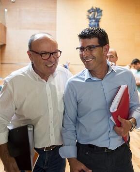 Jorge Rodríguez y Pepe Ruiz.