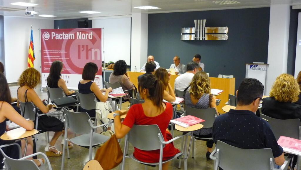 Imagen de una Jornada Informativa desarrollada por Pactem Nord en Asivalco