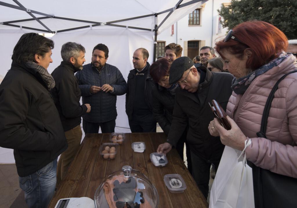 La Diputación consolida la XV Mostra de la Trufa Negra del Maestrat Castelló Ruta de Sabor con truficultores inscritos de toda España