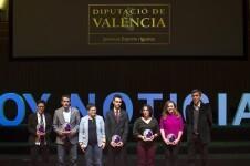 La Diputación reconoce la labor de las escuelas de los clubes valencianos en la Gala del Deporte de la Comunitat.