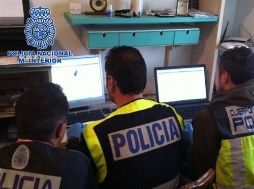 La Policía Nacional detiene a 40 personas en un macro operativo contra una red que intercambiaba material pedófilo en Internet