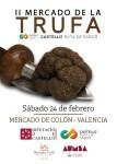 Mercado de la Trufa de Castellón en el Mercado Colón de Valencia