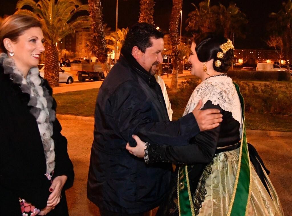 Moliner rinde homenaje a la Reina Mayor de las Fiestas de la Magdalena en la Galanía