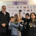 colegio Salesianos San Juan Bosco A fue el equipo campeón del torneo.